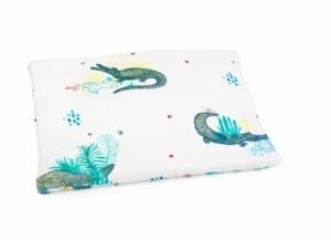 POOFI Tropical Jasiek Poduszka dla niemowląt Krokodyle