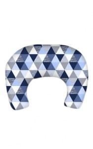 SUPER MAMI Rogal poduszka do karmienia wzór Trójkąty