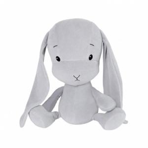 EFFIKI EFFIK M SZARY SZARE USZY królik przytulanka 35 cm