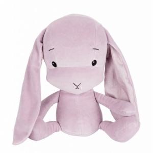 EFFIKI EFFIK M BRUDNY RÓŻ USZY W KROPKI królik przytulanka 35 cm