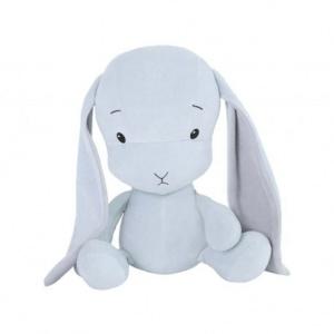 EFFIKI EFFIK M NIEBIESKI USZY SZARE królik przytulanka 35 cm