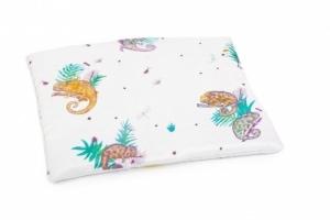 POOFI Tropical Jasiek Poduszka dla niemowląt Kameleony
