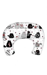 SUPER MAMI Rogal poduszka do karmienia wzór Koty