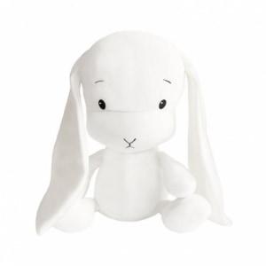EFFIKI EFFIK M BIAŁY USZY BIAŁE królik przytulanka 35 cm