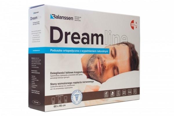 Poduszka ortopedyczna, orkiszowa DreamLine