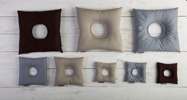 ReliefSit - przeciwodleżynowa poduszka z otworem, kolory