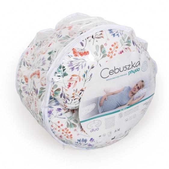 CEBA CEBUSZKA PHYSIO DUO poduszka dla ciężarnych wzór Rowanberry
