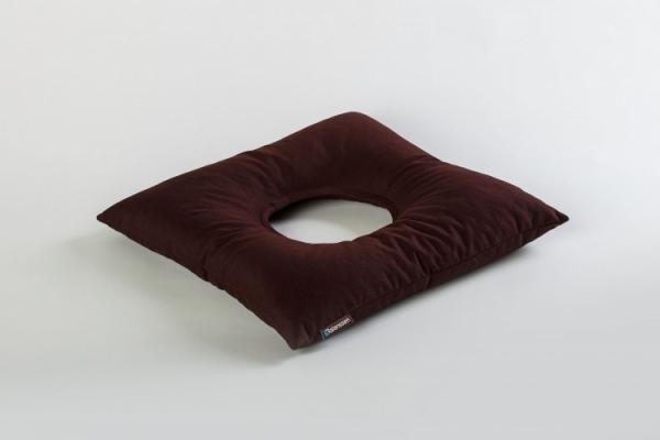 ReliefSit - przeciwodleżynowa poduszka z otworem, brązowa