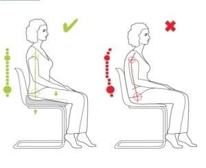 VALDE S1 SITTA poduszka - klin do siedzenia